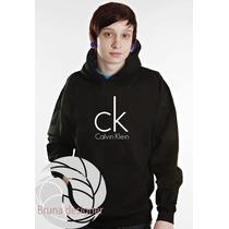 Blusa Calvin Klein Moletom Canguru - Promoção Limitada!