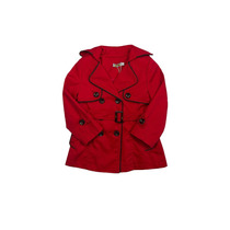 Casaco Trench Coat Infantil Vermelho - Mini Me