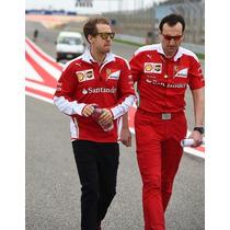Novo Suéter Scuderia Ferrari F1 Team 2016 Pronta Entrega