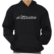 Blusa De Moleton Alpinestars Modelo Canguru