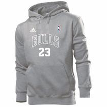 Blusa Moleton Chicago Bulls Nba Basquete - Mega Promoção