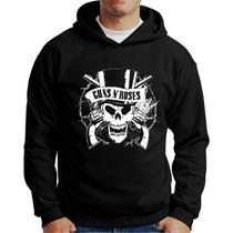Blusa Guns Moletom Guns N Roses Casaco Banda Rock Gunsnroses