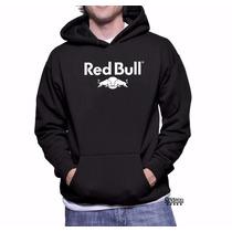 Blusa Red Bull Moletom Canguru