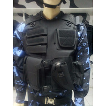 Colete Tático Paintball E Airsoft -police Brasil