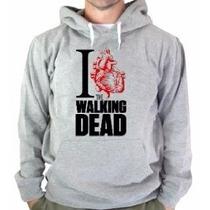 Blusa The Walking Dead Moletom Canguru Cm Capuz Frete Grátis