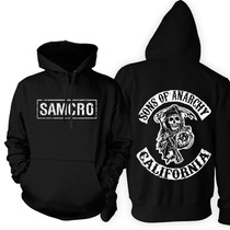 Blusa Moletom Sons Of Anarchy California Frete Grats!!!