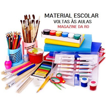 Lista Material Escolar Volta As Aulas Montamos Kits