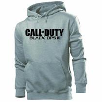 Blusa Moleton Call Of Duty Black Ops Iii. Frete Grátis !