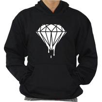 Moleton Diamond Blusa Canguru Com Capuz