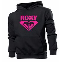 Blusa Moleton Roxy Super Promoção ! Frete Gratis .