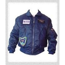 Linda Jaqueta Fj45 Astronauta M.pontes Azul, Military Jacket