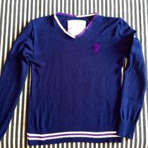 Sweater Lã Masculino Sergio K. Blusa De Frio, Suéter