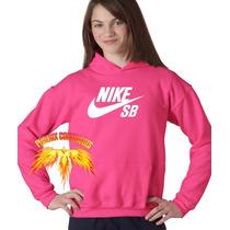 Blusa Nike Sb Feminina Moletom Canguru - Promoção!