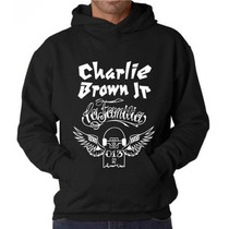 Blusa Charlie Brown Jr. Moletom Canguru - Pronta Entrega!