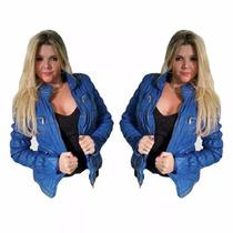 Jaqueta Feminina Importada Couro Pu Sintético Ref 3420