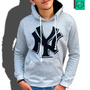 Blusas De Moleton Masculinas New York Los Angeles, Ny La Nfl