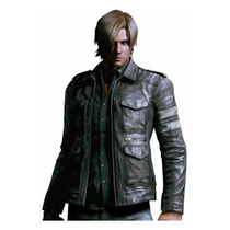 Resident Evil 6 Leon Kennedy Jacket - Real Leather Game Cost