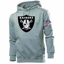Blusa Moleton Oakland Raiders Nfl Promoção ! Frete Grátis.