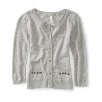 Aeropostale Womens Studded Cardigan Sweater