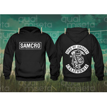 Canguru Moletom Samcro Sons Of Anarchy Bandas Moleton Capus