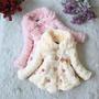 Casaco Vestido Luxo Inverno - Menina