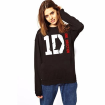Blusa Moletom One Direction Gola Redonda !!!