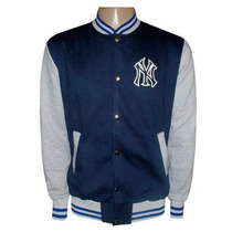 Blusa Moletom New York Yankees Az Ciano E Cinza College