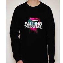 Camiseta Manga Longa Falling In Reverse