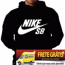 Blusa Moleton Nike Sb Customizada Frete Grátis