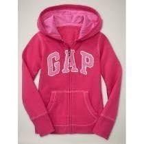 Blusa Frio Gap Feminina Moleton Rosa Pink C/ Zíper