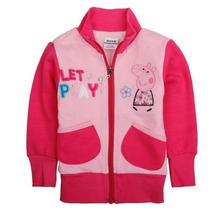 Casaco Menina Infantil Peppa Pig - Inverno - Pronta Entrega