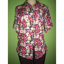 Camisa Feminina Talita Kume Estampa Floral M