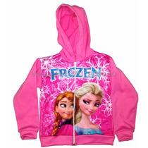 Blusa Infantil Frozen Moletom Casaco Ana E Elsa