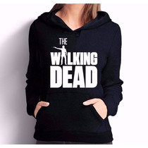 Blusa Moletom The Walking Dead Canguru Com Capuz