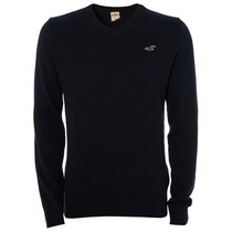 Suéter Masculino Hollister Iced Nvy