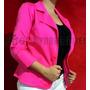 Blazer Casaco Jaqueta Terninhos Femininos Pink