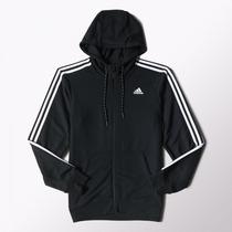 Jaqueta Moletom Masculina Adidas Ess The Hood S88109 Capuz