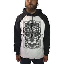 Blusa Johnny Cash Camiseta Regata Moletom Banda Rock Country