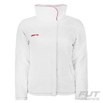 Jaqueta Umbro Sportswear Feminina Branca - Futfanatics