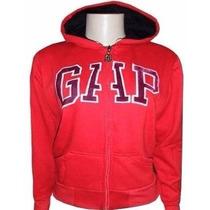 Blusa De Moletom Gap Feminina Com Touca E Ziper - B130
