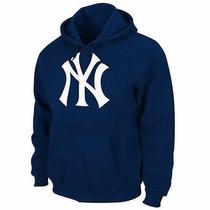 Blusa Moleton New York Yankees Mlb Beisebol -frete Grátis