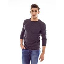Suéter Masculino (marco Mens) - Cinza