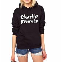 Blusa Charlie Brown Jr. Moletom Canguru Unissex A Melhor