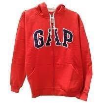 Aproveita Blusa De Frio Gap - C/ziper Capuz Confira