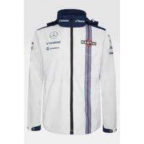 Nova Jaqueta De Chuva Williams Martini Racing F1 Team 2015