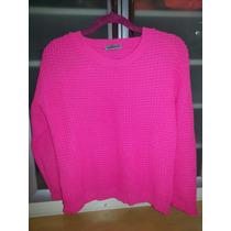 Lindo Sweater Blusa De Frio Rosa Pink Fluor Neon Importado