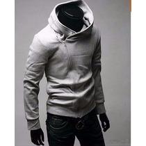 Blusa Jaqueta Casaco Moleton Slim Fit V3 - Pronta Entrega