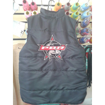 Colete Rodeio Logo Pbr Bordado R$ 165,00