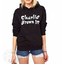 Blusa Charlie Brown Jr Moletom Canguru!!!