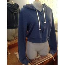 Blusa Hollister Moleton Fem C/ Ziper E Capuz 100% Original
